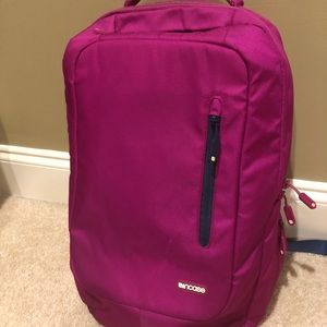 Pink Incase backpack